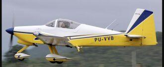 Avião acidentado de propriedade de Baseggio Foto-Popinga-JetPhotos
