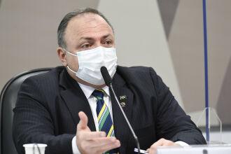 O ex-ministro afirmou que sempre ressaltou a importância de medidas como uso de máscaras e lavagem das mãos (Foto: Jefferson Rudy/Agência Senado)