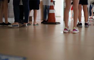 A escola afirma que os protocolos de prevenção preveem o afastamento de pessoas e turmas (Foto: Divulgação/Colégio Marista Conceição)