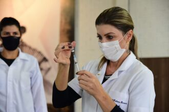 Vacinação será no CTG Lalau Miranda (Foto: Divulgação/PMPF)