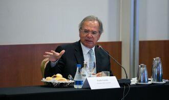 Guedes falou sobre o assunto ao participar do encontro Diálogos com a Indústria (Foto: Washington Costa/Ascom/ME)