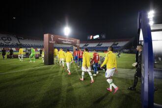 O time é praticamente o mesmo dos últimos jogos das Eliminatórias da Copa (Foto: Lucas Figueiredo/CBF)