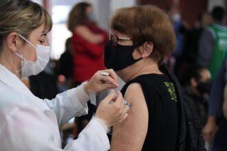A vacinação com faixa etária começou em 05 de junho (Foto: Divulgação/PMPF)