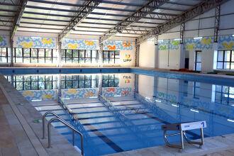 A piscina tem capacidade para 600 mil litros (Foto: Camila Guedes/Divulgação UPF)