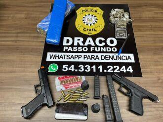 Foram cumpridos nove mandados de busca e apreensão no bairro Bom Jesus (Foto: Divulgação/PC)