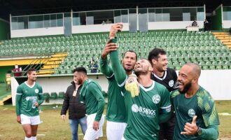 Comemoração: Gaúcho está na final -Foto-Alex Borgmann-SCG