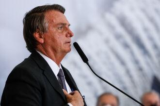 Bolsonaro realizou discurso ontem (13) na Solenidade alusiva à desestatização da Eletrobras (Foto: Alan Santos/PR)