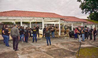 Estão sendo cumpridos 374 mandados de prisão (Foto: Divulgação/MJSP)