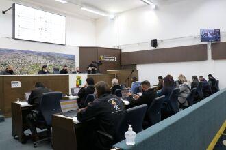 Também foi aprovada a criação da Frente Parlamentar Mista em Defesa do Trânsito Seguro de Passo Fundo (Foto: Divulgação/CMPF)