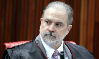 Augusto Aras disse se sentir honrado com a recondução (Foto: Roberto Jayme/TSE)