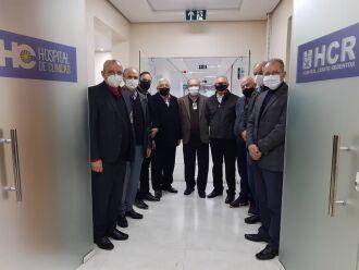 Parceria estratégica: Unidade Oncológica HCR/HCPF (Foto: Divulgação/HCPF)