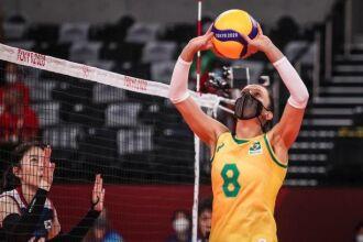 O time feminino de vôlei venceu por 3 sets a 0 (Foto: Wander Roberto/COB)