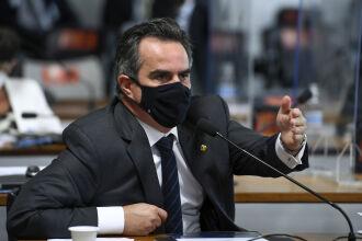 Ciro Nogueira (PP-PI) durante a Comissão Parlamentar de Inquérito da Pandemia (Foto: Edilson Rodrigues/Agência Senado)