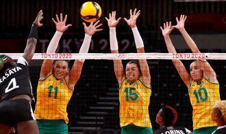 As brasileiras venceram o Quênia por 3 sets a 0 (Foto: Valentyn Ogirenko)