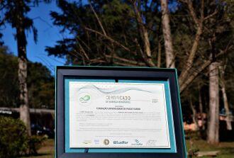 Os indicadores de sustentabilidade conquistados representam o compromisso da FUPF com a sustentabilidade ambiental (Foto: Natália Fávero/UPF)