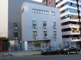 A sede está localizada na Rua Bento Gonçalves, nº 720 (Foto: Luciano Breitkreitz/ON)