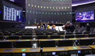 A votação teve 286 votos a favor, 173 contra e duas abstenções (Foto: Najara Araujo/Câmara dos Deputados)