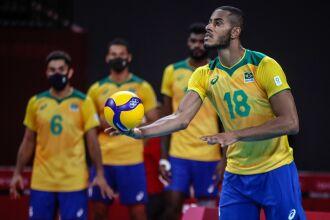A derrota foi por 3 sets a 2 na disputa pelo terceiro lugar (Foto: Gaspar Nóbrega/COB)