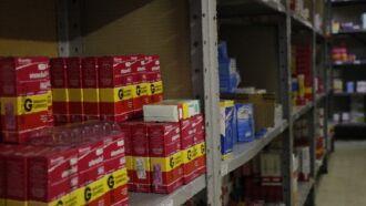 Custo mensal da Secretaria da Saúde com medicamentos varia de R$ 25 milhões a R$ 35 milhões (Foto: Divulgação SES)