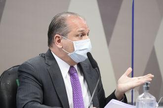 Barros negou envolvimento na negociação da vacina indiana Covaxin (Foto: Pedro França/Agência Senado)