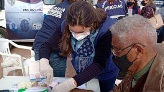 A coleta de material genético é um serviço permanente em todos os Postos Médico-Legais do IGP (Foto: Divulgação IGP)