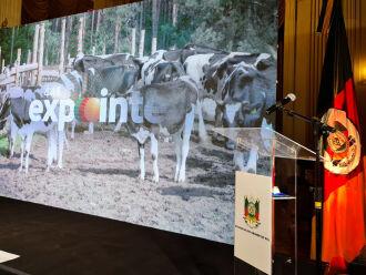 Lançamento da 44ª Expointer, nesta quarta-feira (18/8), no Palácio do Piratini (Foto: Itamar Aguiar/ Palácio Piratini)