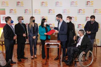 O evento foi realizado no Palácio Piratini (Foto: Itamar Aguiar / Palácio Piratini)