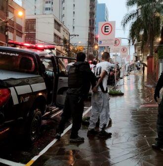 Os presos foram encaminhados ao Presídio Regional de Passo Fundo (Foto: Divulgação/PC)
