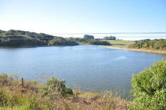 O nível da Barragem da Fazenda está 1,5 metro abaixo da capacidade máxima (Foto: Gerson Lopes/ON)