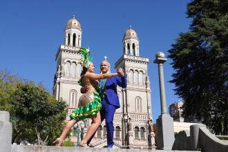 O tema da campanha está relacionado aos festivais realizados na cidade (Foto: Divulgação/ON)