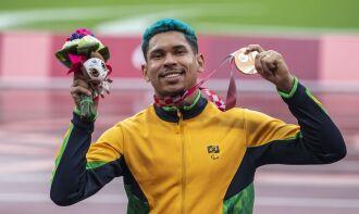 Esta é a segunda medalha de Mateus em edições de Jogos Paralímpicos (Foto: Ale Cabral/CPB)