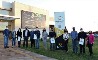 A parceria entre UPF e Ambev abrange projetos colaborativos de pesquisa e inovação (Foto: Natália Fávero/UPF)