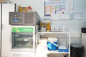 Localização e condições para armazenamento foram os critérios para escolha das unidades (Foto: Michel Sanderi/PMPF)