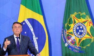 Bolsonaro recebeu o ex-presidente Michel Temer antes da divulgação da nota (Foto: Wilson Dias/Agência Brasil)