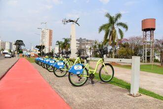 O serviço de compartilhamento foi reativado hoje (13) (Foto: Diogo Zanatta/Divulgação PMPF)