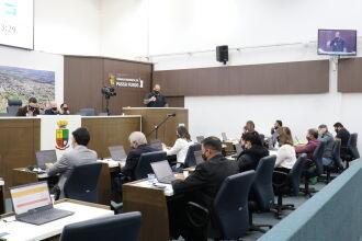 O PL foi aprovado por unanimidade (Foto: Comunicação Digital / CMPF)