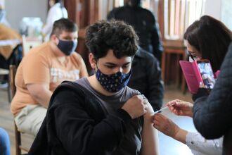 Passo Fundo vacinou apenas adolescentes com comorbidades (Foto: Divulgação/PMPF)