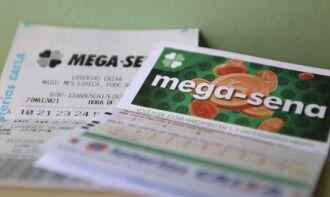 O valor de uma aposta simples, com seis dezenas marcadas, custa R$ 4,50 (Foto: Tânia Rego/Agência Brasil)