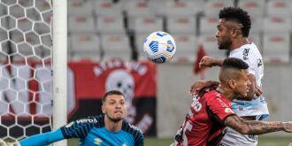 Derrota gremista na Arena da Baixada - Foto-Robson Mafra- AGIF/CBF