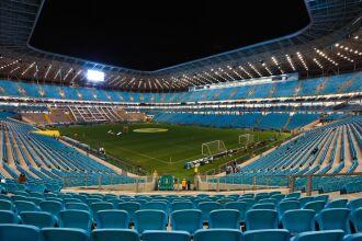 Arena poderá receber público para a partida do Grêmio diante do Sport (Foto: Reprodução/Redes Sociais)