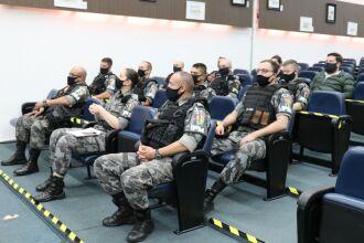 Homenagem ocorreu na sessão da Câmara de Vereadores (Fotos: Divulgação/Brigada Militar)