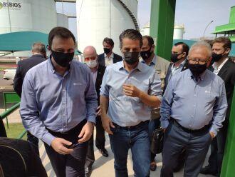 Ministro vai fazer umavisita pela unidade, com objetivo de conhecer as instalações da empresa (Foto: Luciano Breitkrtez/ON)