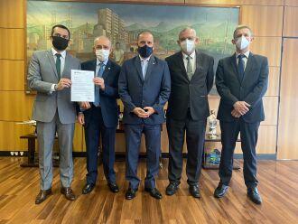 Resultado da reunião foi considerado positivo pelos representantes das instituições hospitalares (Foto: Divulgação/HCPF)