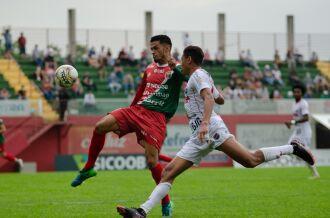 Jogo foi sábado na Arena União Frederiquense (Foto – Daya Giacomini-ECPF)
