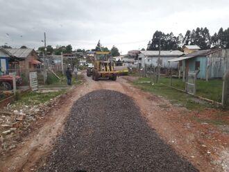 As obras têm o objetivo de melhorar o tráfego no local (Foto: Divulgação/PMPF)