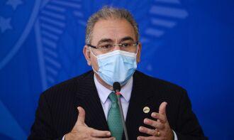 O ministro Marcelo Queiroga prevê que 2022 será o ano do fim da pandemia (Foto: Marcelo Camargo/Arquivo Agência Brasil)