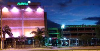 Prédio permanece rosa até o dia 15 (Foto: Juliana Cardoso/Divulgação)