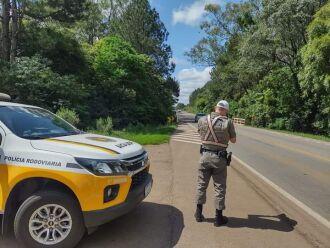 Veículo estava trafegando em alta velocidade (Foto: Divulgação/PRE)