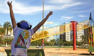 Crianças estão ansiosas pela retomada do convívio social (Foto: Fabio Rodrigues Pozzebom/Agência Brasil)