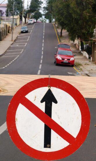 Quatro trechos na região do bairro Cruzeiro foram modificados